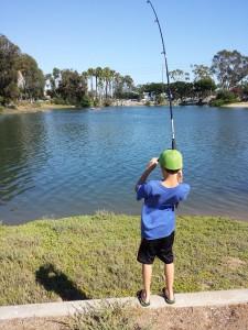 Fishin the Colorado Lagoon